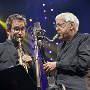 Emile Parisien & Michel Portal live in Marciac by Francis Vernet