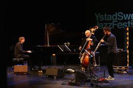 Jan Lundgren, Emile Parisien & Lars Danielsson © Markus Fägersten