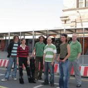 Young Friends: Michael Wollny, Eva Kruse, Johannes Lauer, Eric Schaefer, Florian Trübsbach, Axel Schlosser - ©Jens Liebchen / ACT