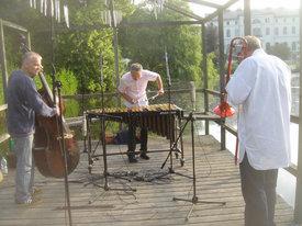 Lars Danielsson, Christopher Dell, Nils Landgren - ©Rainer Haarmann