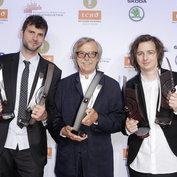 Vincent Peirani, Siggi Loch & Michael Wollny ECHO Jazz 2015 © ACT / Markus Nass