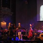 Nils+ACT20, 8.10.2014. Hamburg Laeiszhalle: Nils Landgren, Marius Neset, Adam Baldych, Dieter Ilg & Robert M. Ikiz