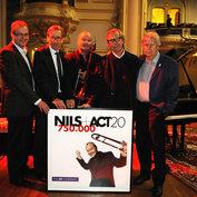 Klaus Konstantin (Ärzte ohne Grenzen), Staffan Carlsson (Ambassador of Sweeden), Nils Landgren, Siggi Loch, Karsten Jahnke