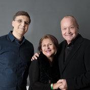Vince Mendoza, Janis Siegel & Nils Landgren © ACT / Lutz Voigtländer
