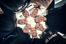 Nils Landgren, Sebastian Studnitzky, Magnum Coltrane Price, Andy Pfeiler, Magnus Lindgren, Robert Ikiz, Jonas Wall  - ©ACT / Steven Haberland