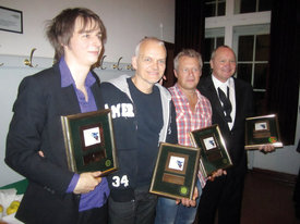 Michael Wollny, Lars Danielsson, Rasmus Kihlberg, Nils Landgren - ©Ina Lieckfeldt