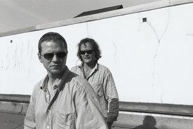 Infolf Burkhardt (vorne) und Peter Weniger - ©Anselm Kluge