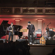 Michael Wollny, Emile Parisien, Andreas Schaerer, Vincent Peirani © Gregor Hohenberg