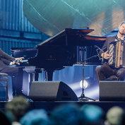Vincent Peirani & Michael Wollny ECHO Jazz 2015 © ACT / Wüstenhagen