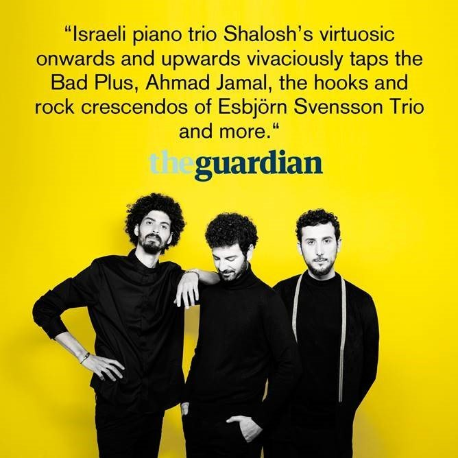 SHALOSH: International media reactions & up-coming concerts