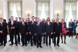 Polish Order of Merit for Leszek Mozdzer - © Sylwia Kicka