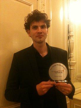 Vincent Peirani receives Prix Django Reinhardt 2013